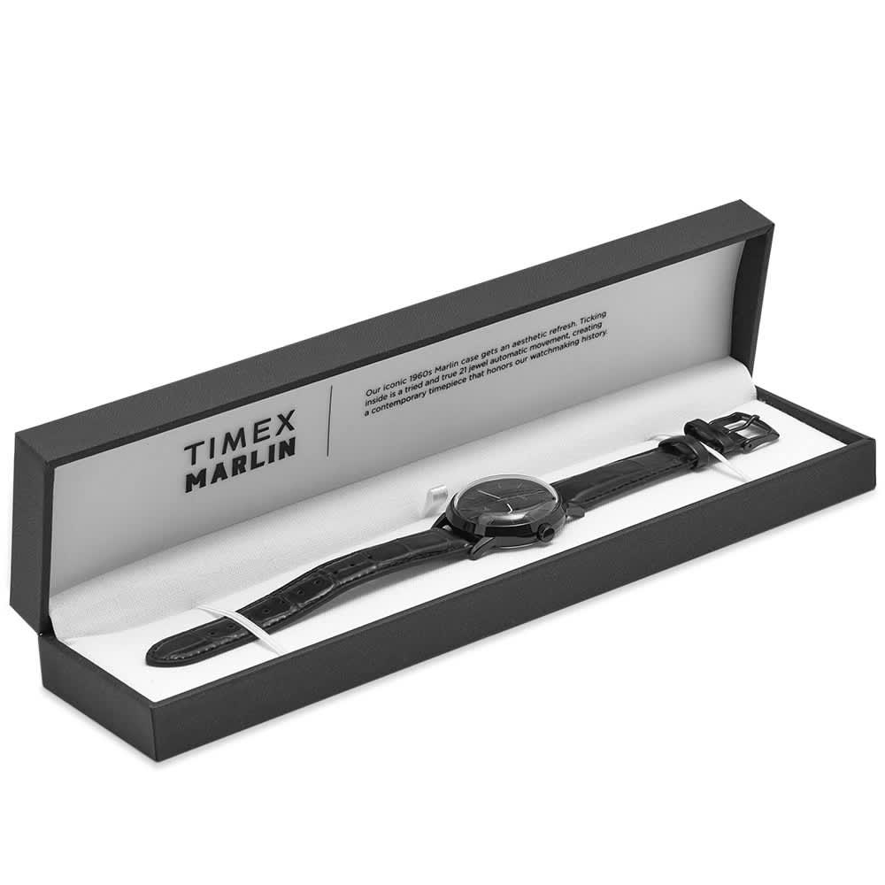 Timex Marlin Automatic Watch - Black