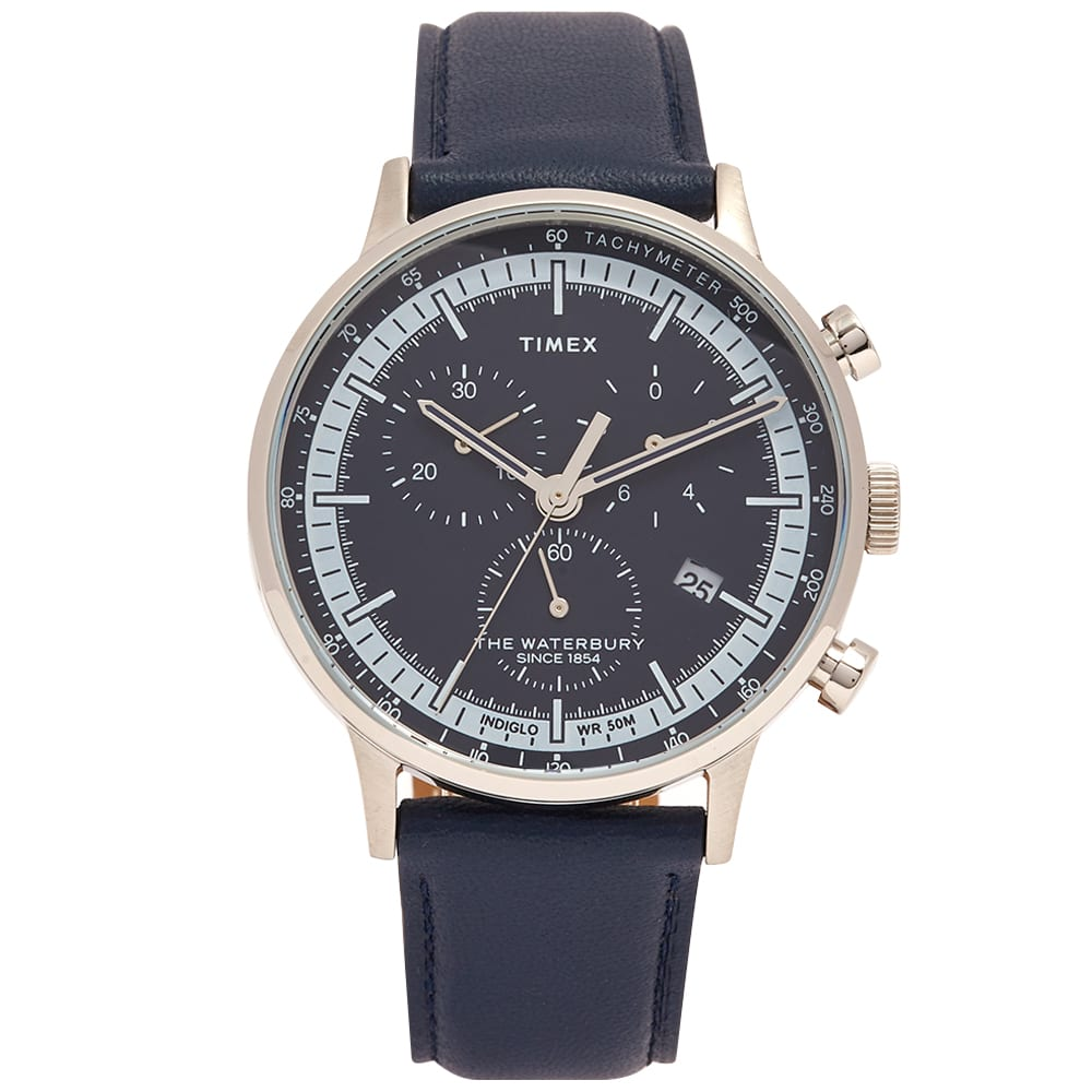 Timex Waterbury Classic Watch - Navy