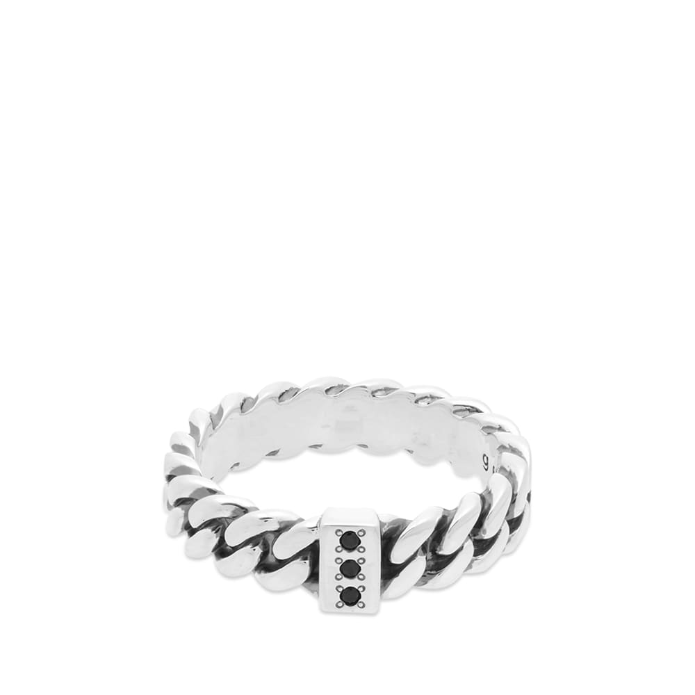 Tom Wood Chain Ring - Sterling Silver