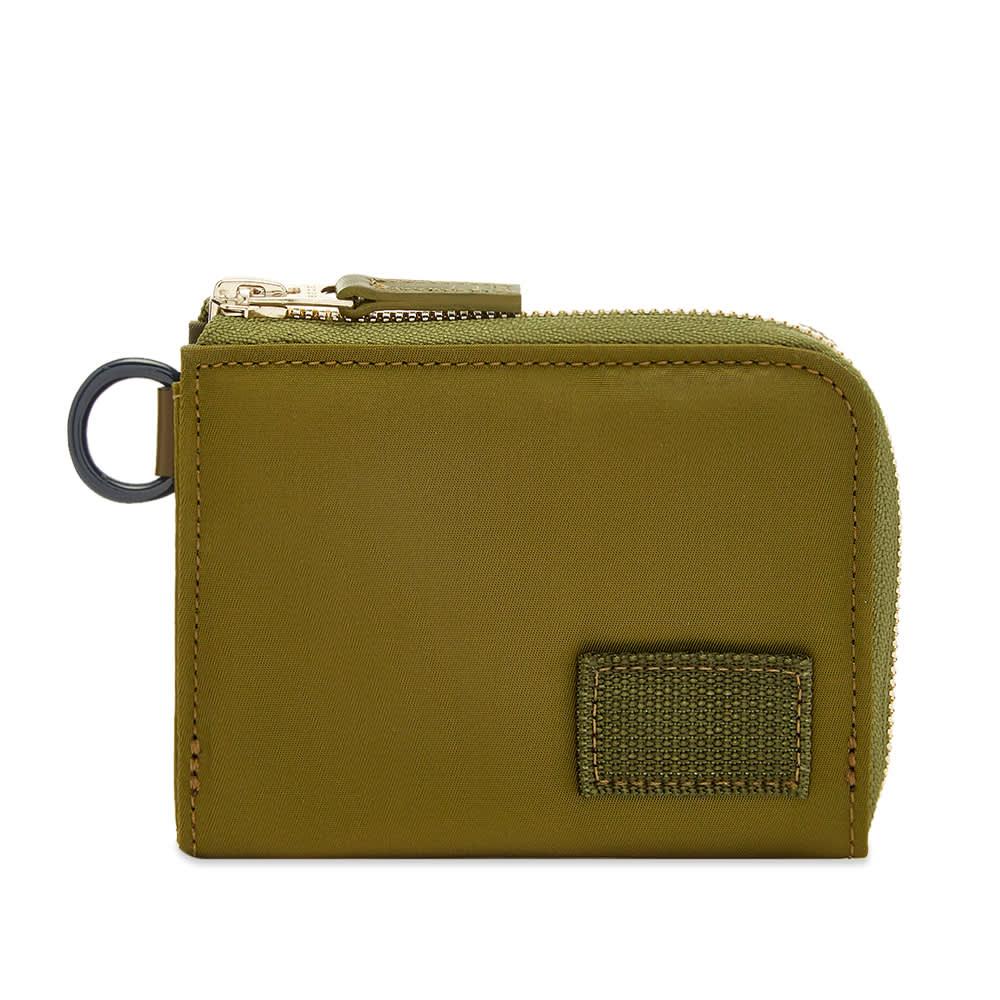 Sacai x Porter Nylon Wallet - Khaki