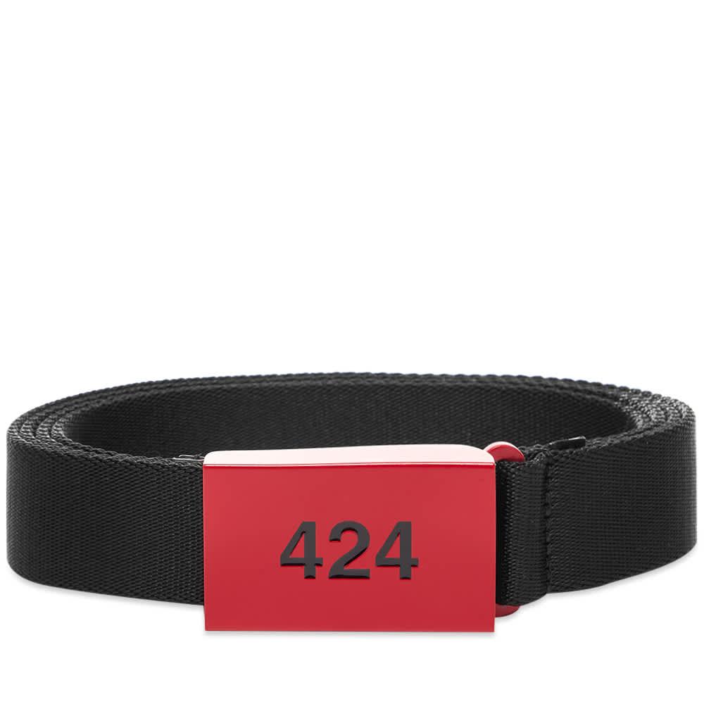 424 Logo Sport Belt - Matte Red