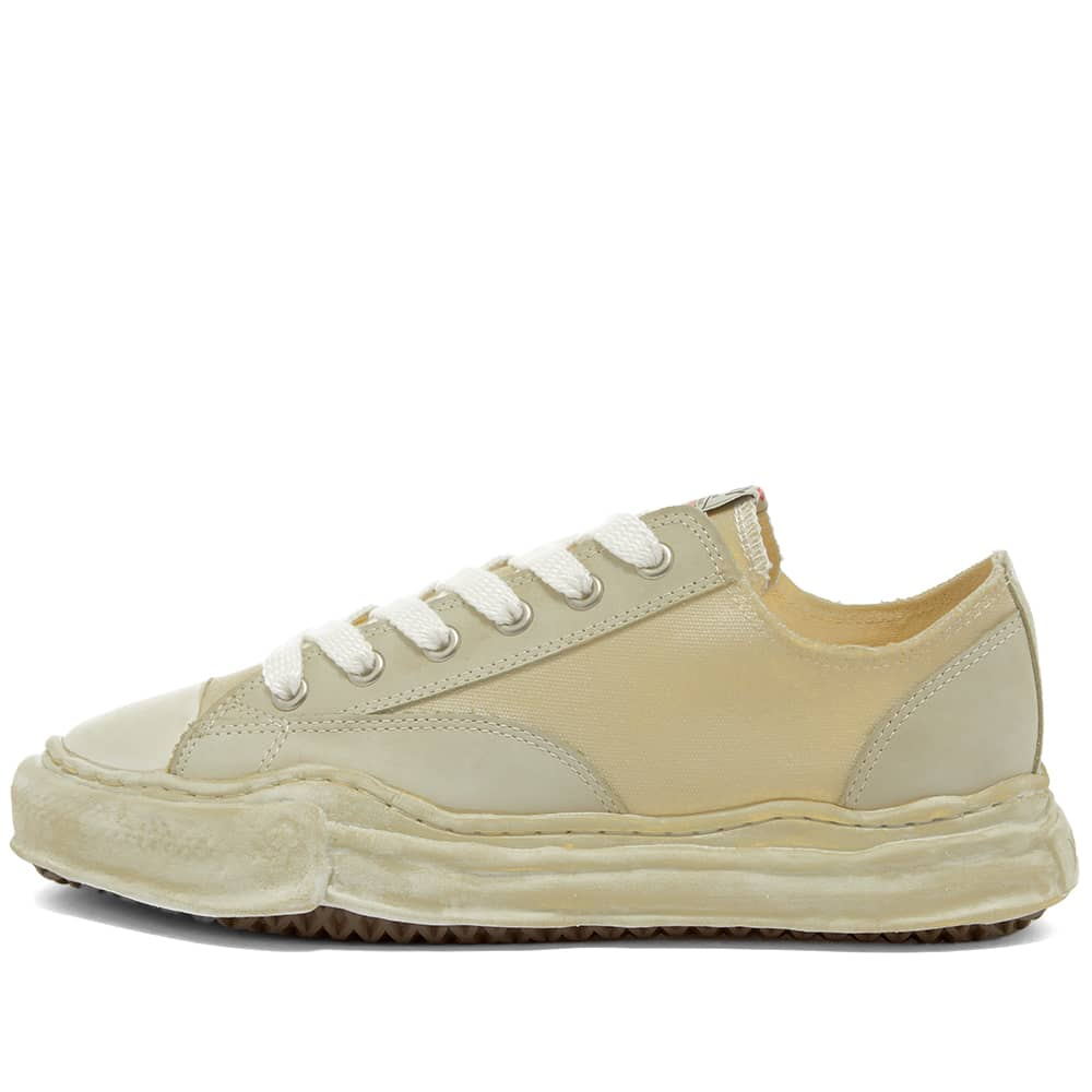 Maison MIHARA YASUHIRO Original Sole Overdyed Lowcut Sneaker - Beige
