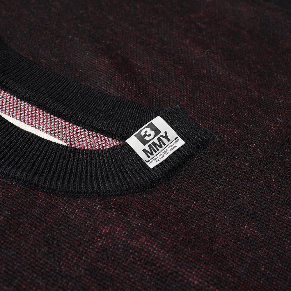 Maison MIHARA YASUHIRO Jacquard Knit Pullover - Black