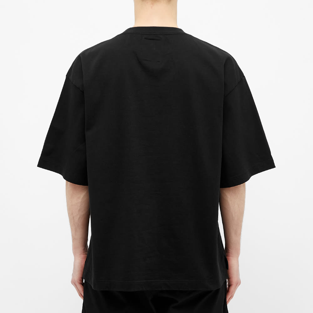 Maison MIHARA YASUHIRO Multi Logo Patch Tee - Black