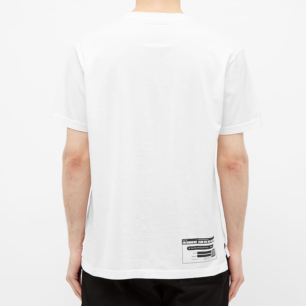 Maison MIHARA YASUHIRO Package Logo Tee - White