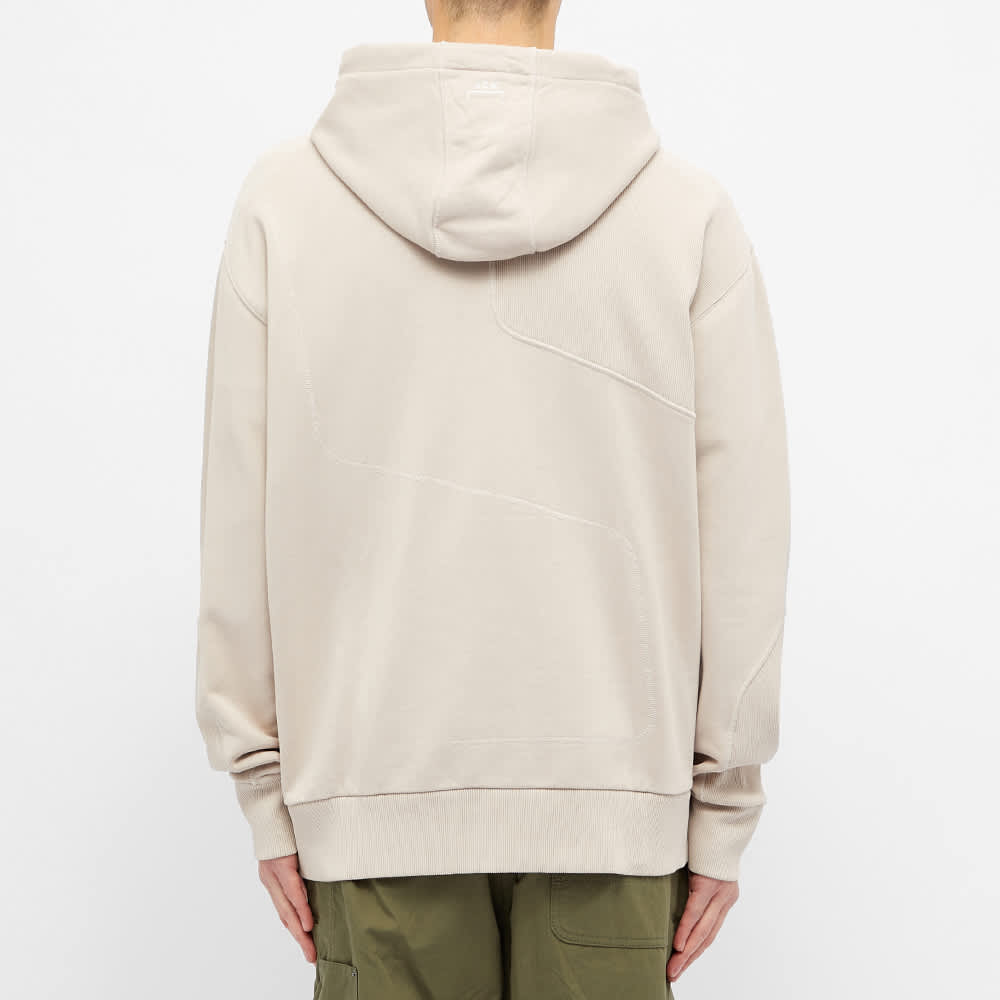 A-COLD-WALL* Rhombus Contour Line Hoody - Cement