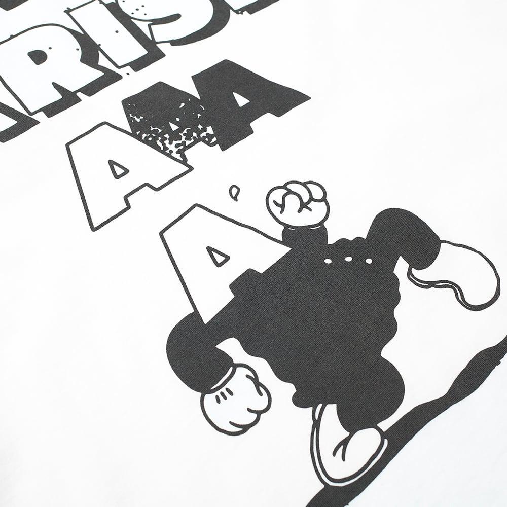 Aries Sad Planet Tee - White