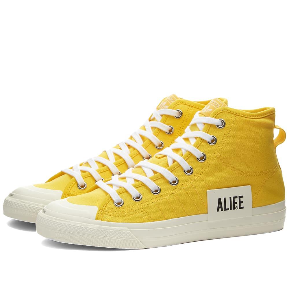 Adidas Consortium x ALIFE Nizza Hi - Yellow
