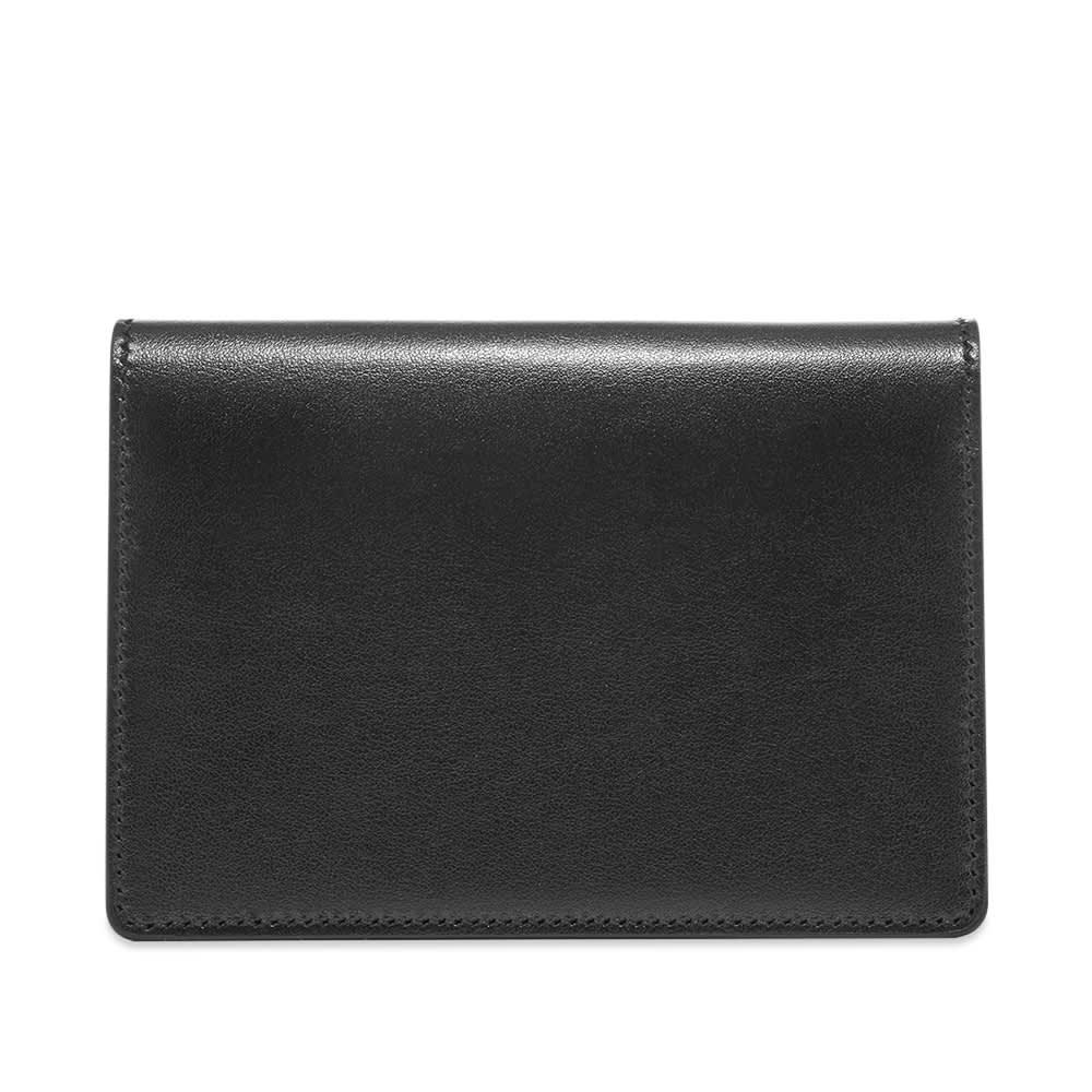 Off-White Quote Passport Wallet - Black