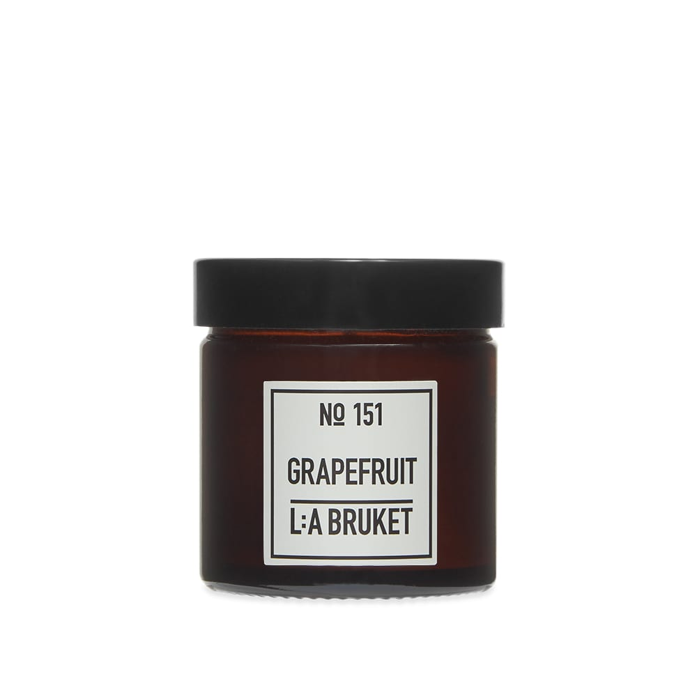 L:A Bruket Scented Candle - Grapefruit 50g
