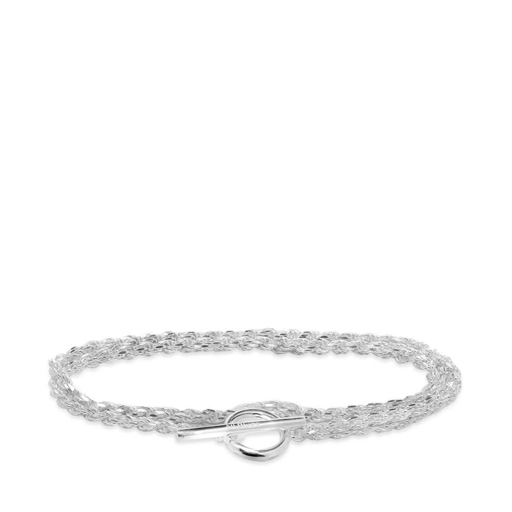 All Blues Rope Bracelet - Sterling Silver