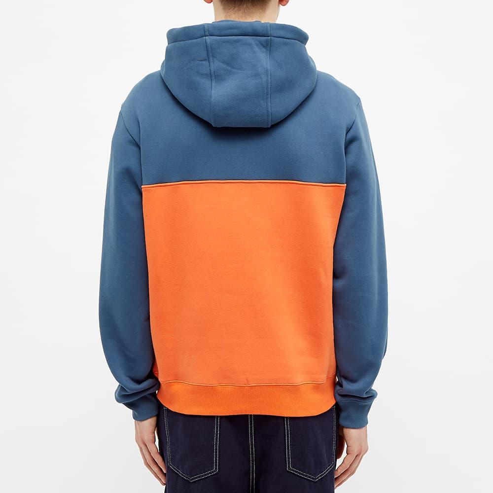 Alltimers Struck Half Zip - Blue Orange
