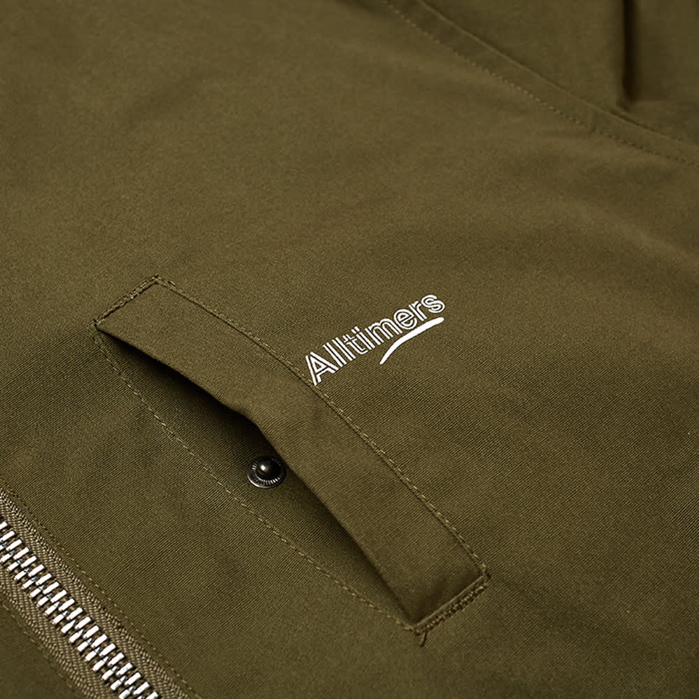 Alltimers Tini Reversible Bomber Jacket - Olive