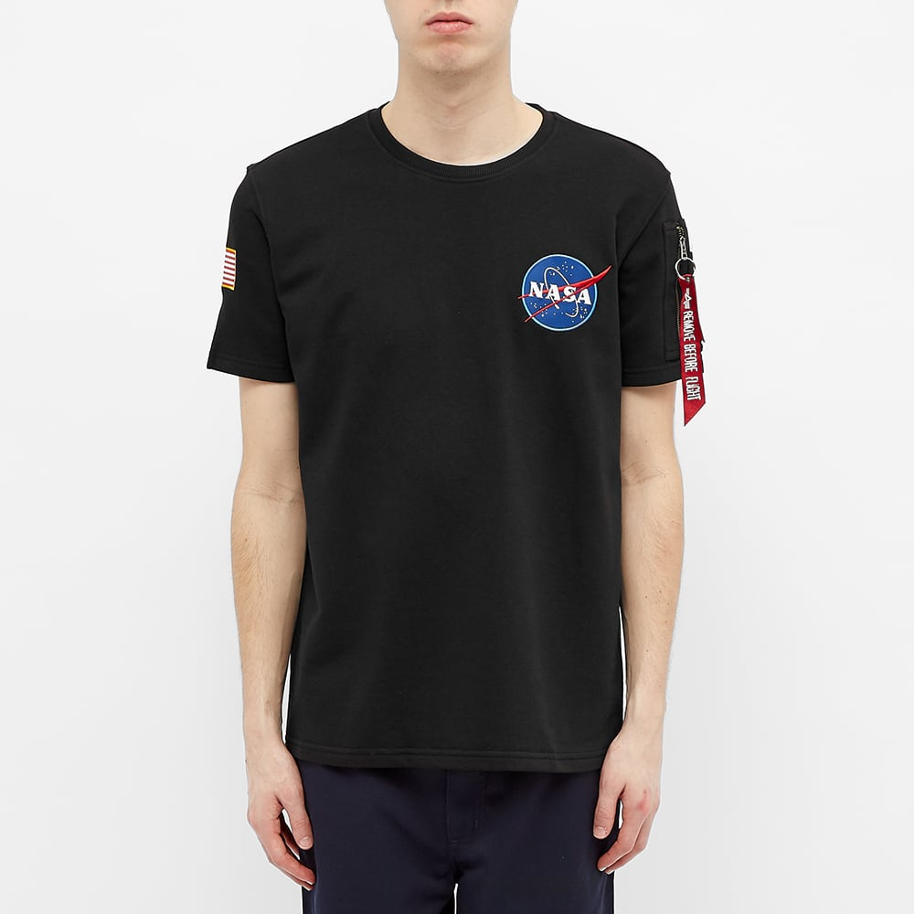 Alpha Industries NASA Heavy Tee - Black