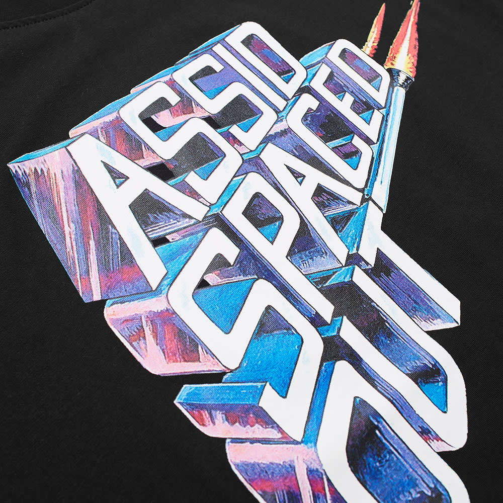 Assid Spaced Out Tee - Black