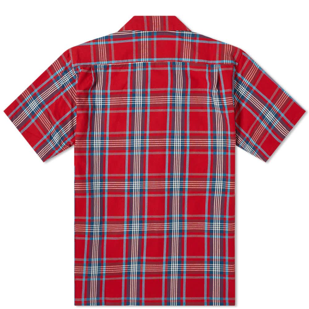 Beams Plus Check Vacation Shirt - Red
