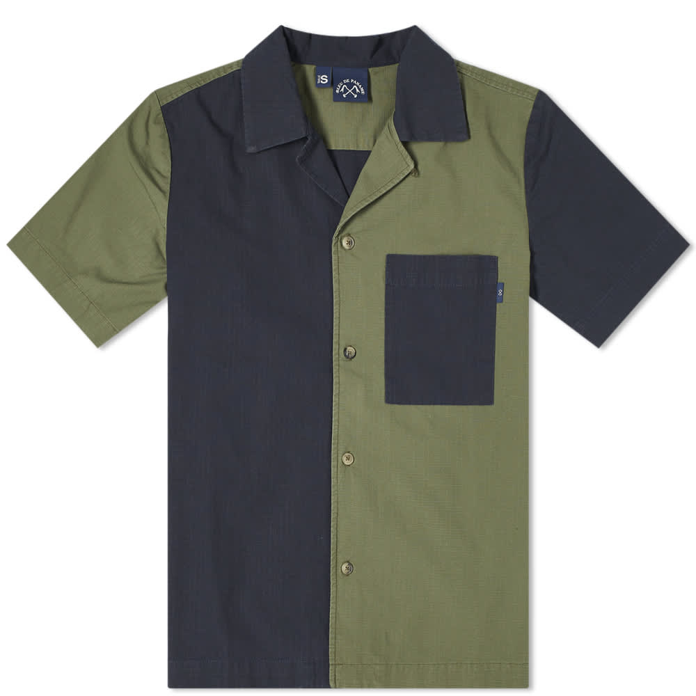 Bleu de Paname Patchwork Surf Shirt - Patchwork