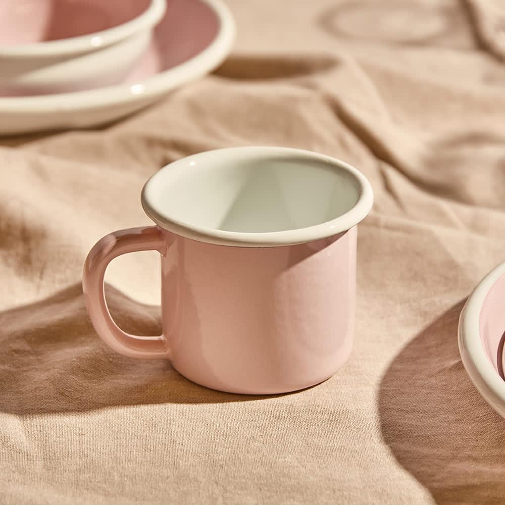 BORNN Enamelware Bloom Large Mug - Powder Pink