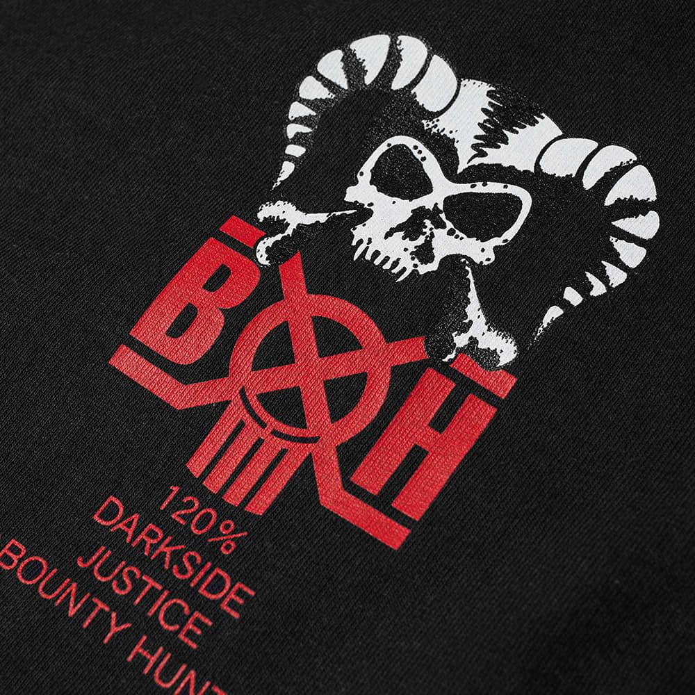 Bounty Hunter Horns Tee - Black & Red