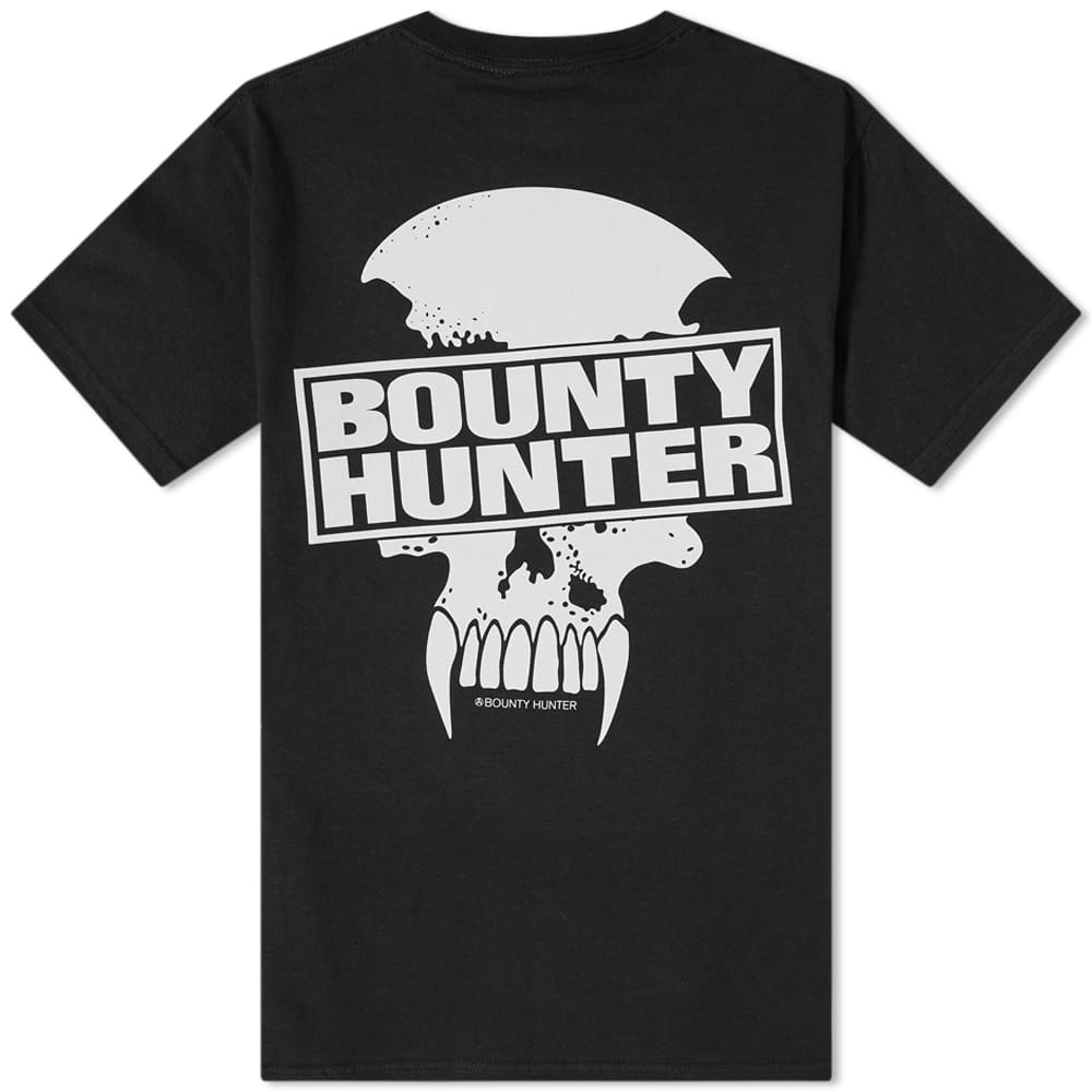 Bounty Hunter Saber Skull Tee - Black
