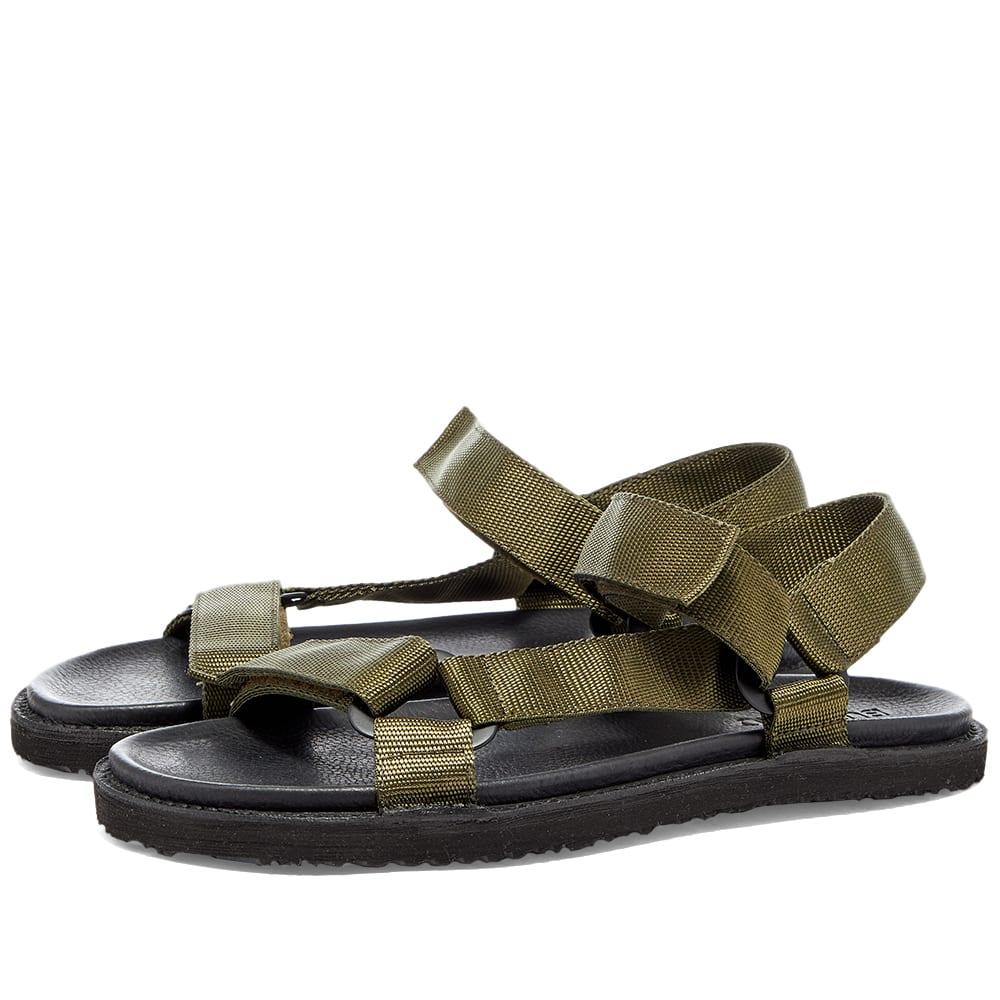 Buttero El Fuso Sandal - Black