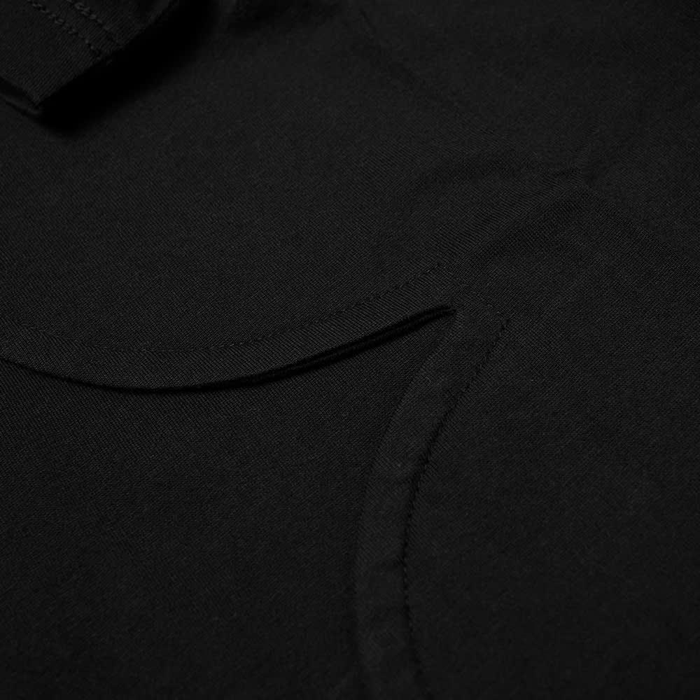 Comme des Garcons Homme Plus Polka Dot Side Panel Tee - Black