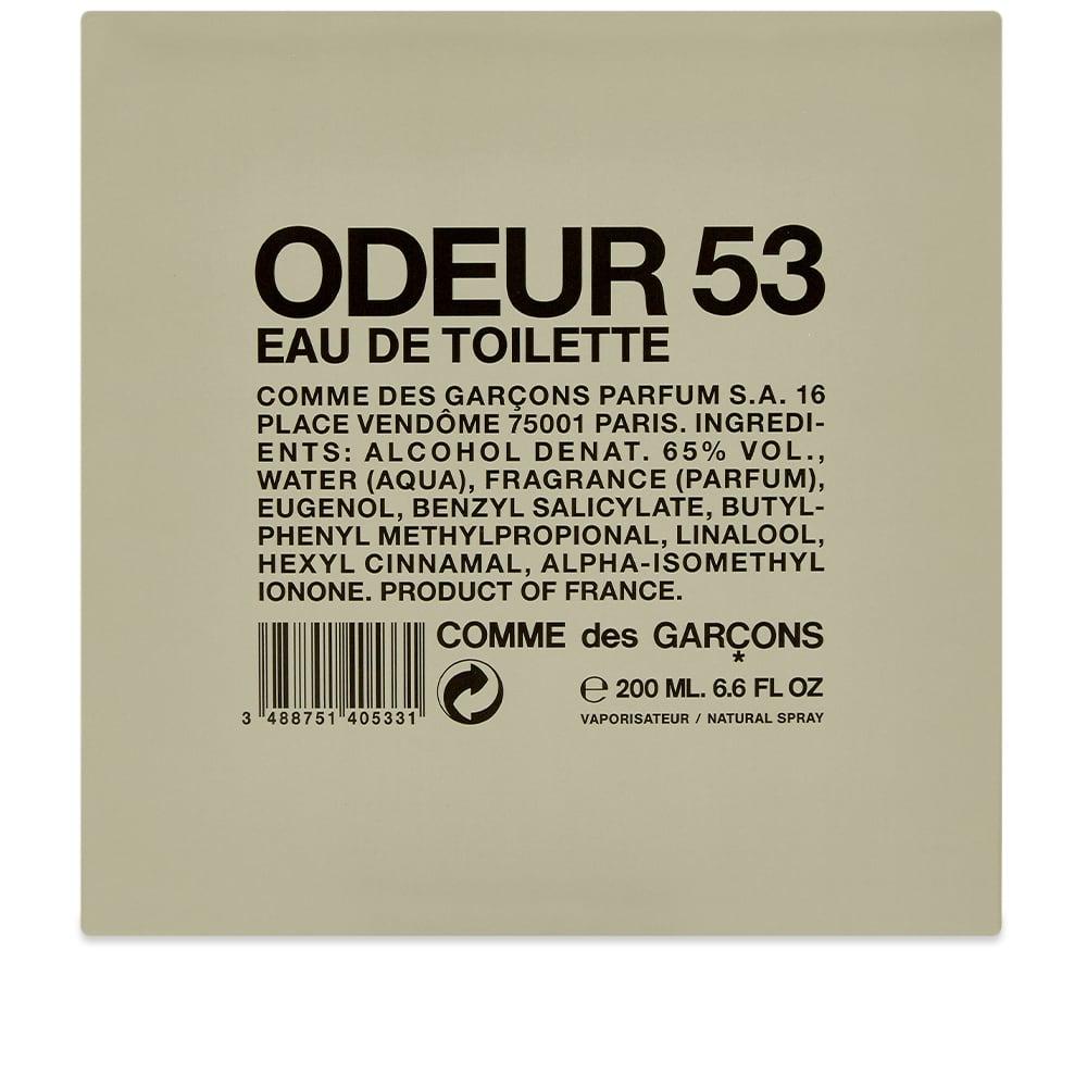 Comme des Garcons Odeur 53 Eau De Toilette - 200ml
