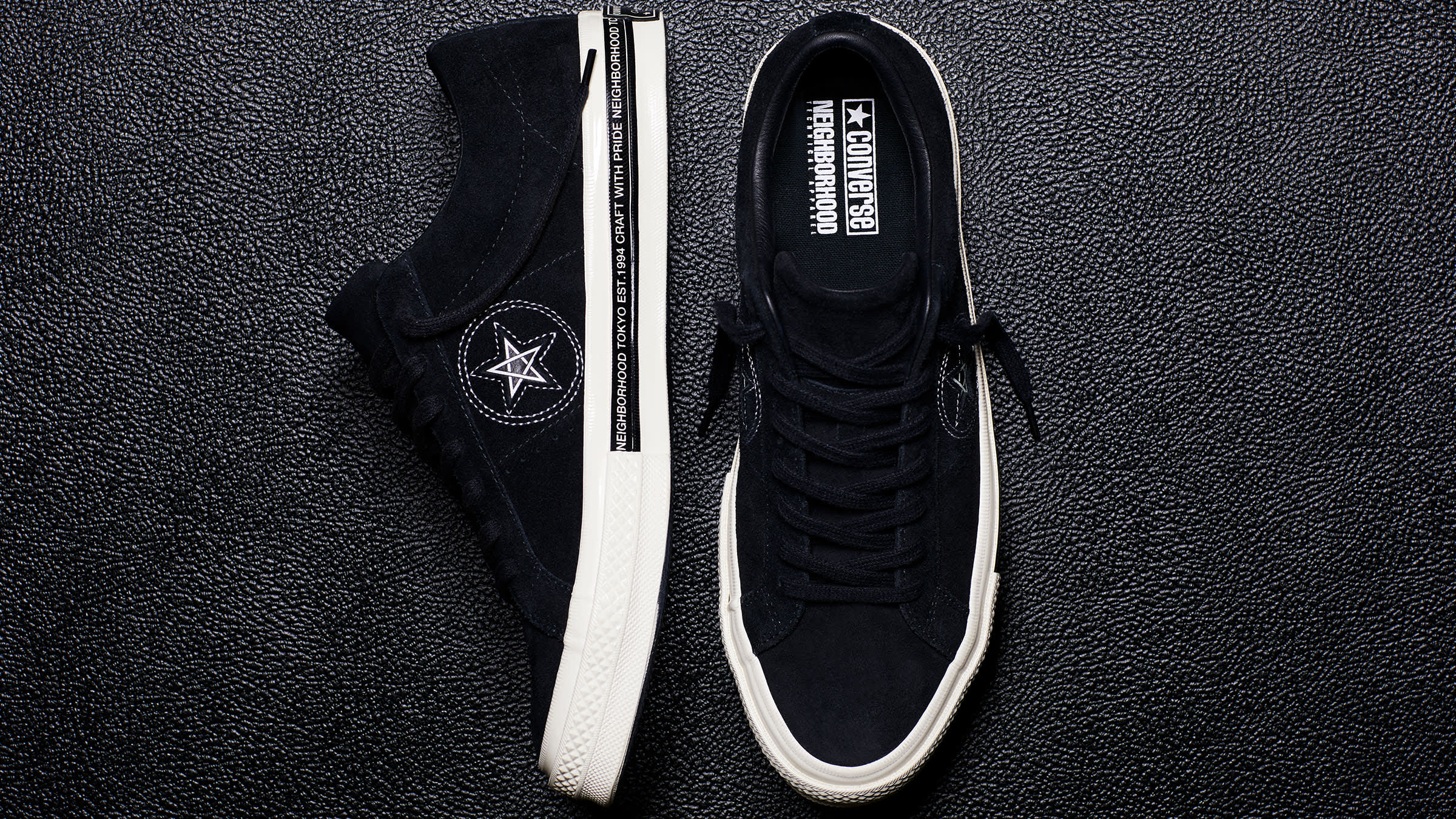 Converse x Neighborhood One Star Black