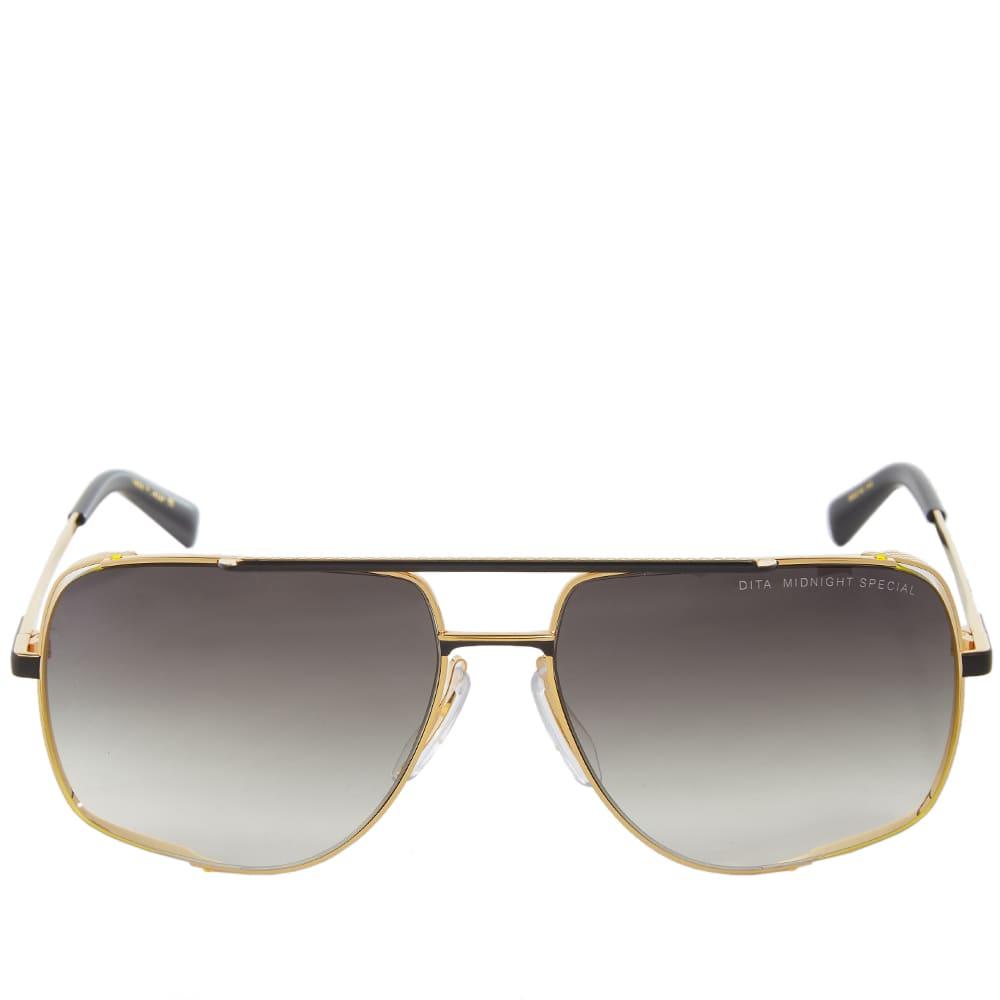 Dita Midnight Special Sunglasses - Black & Grey