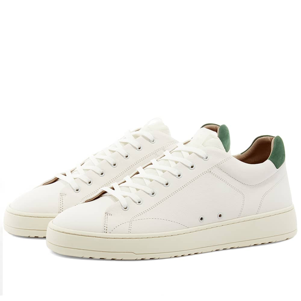 ETQ. Low Top 4 Off Court Sneaker White