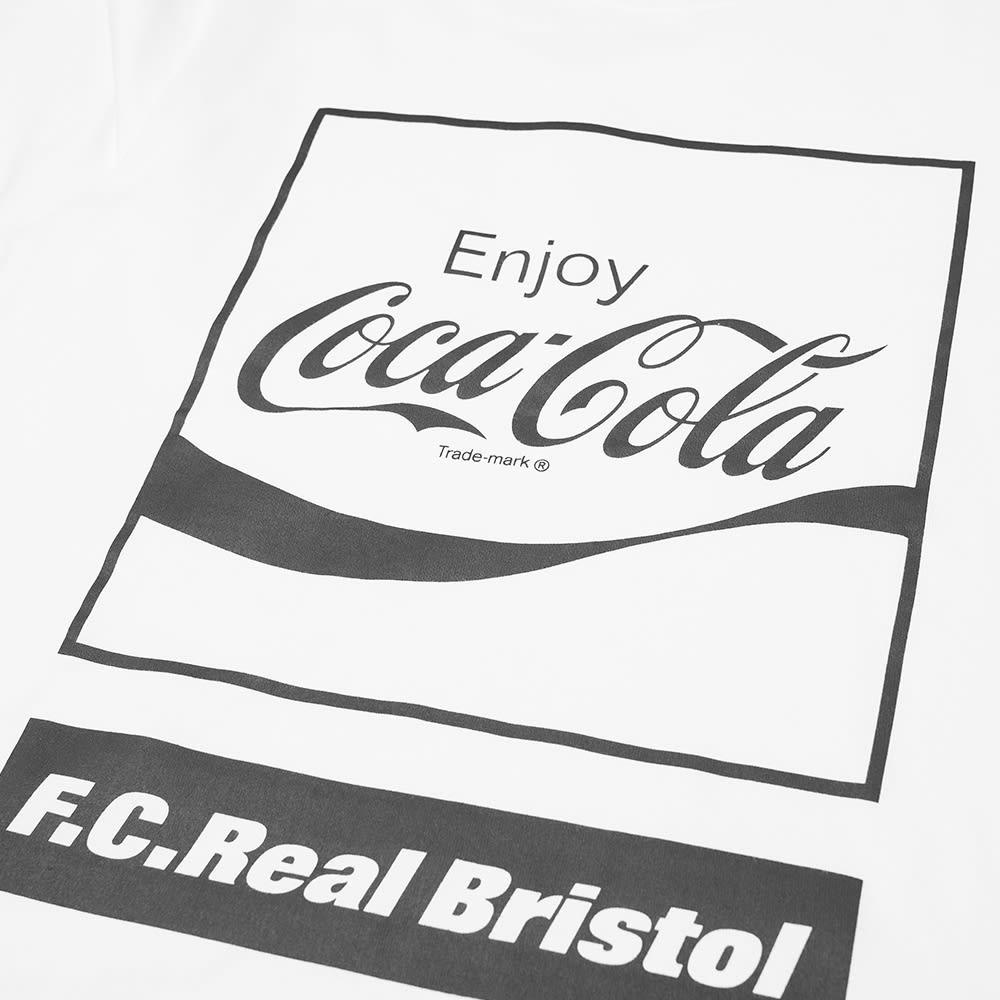 F.C. Real Bristol x Coca-Cola Box Logo Tee - White