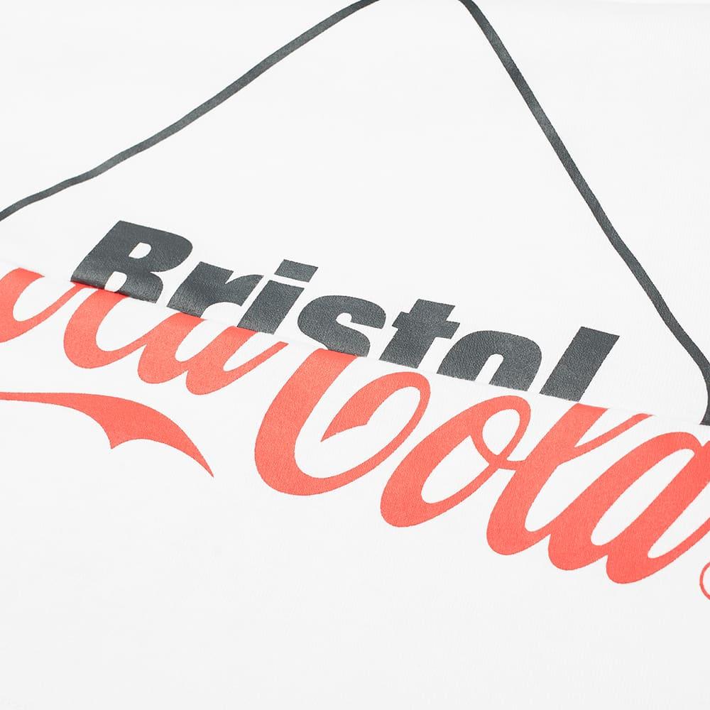 F.C. Real Bristol x Coca-Cola Split Logo Tee - White