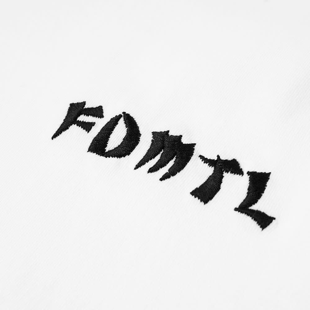 FDMTL Long Sleeve Crane Tee - White
