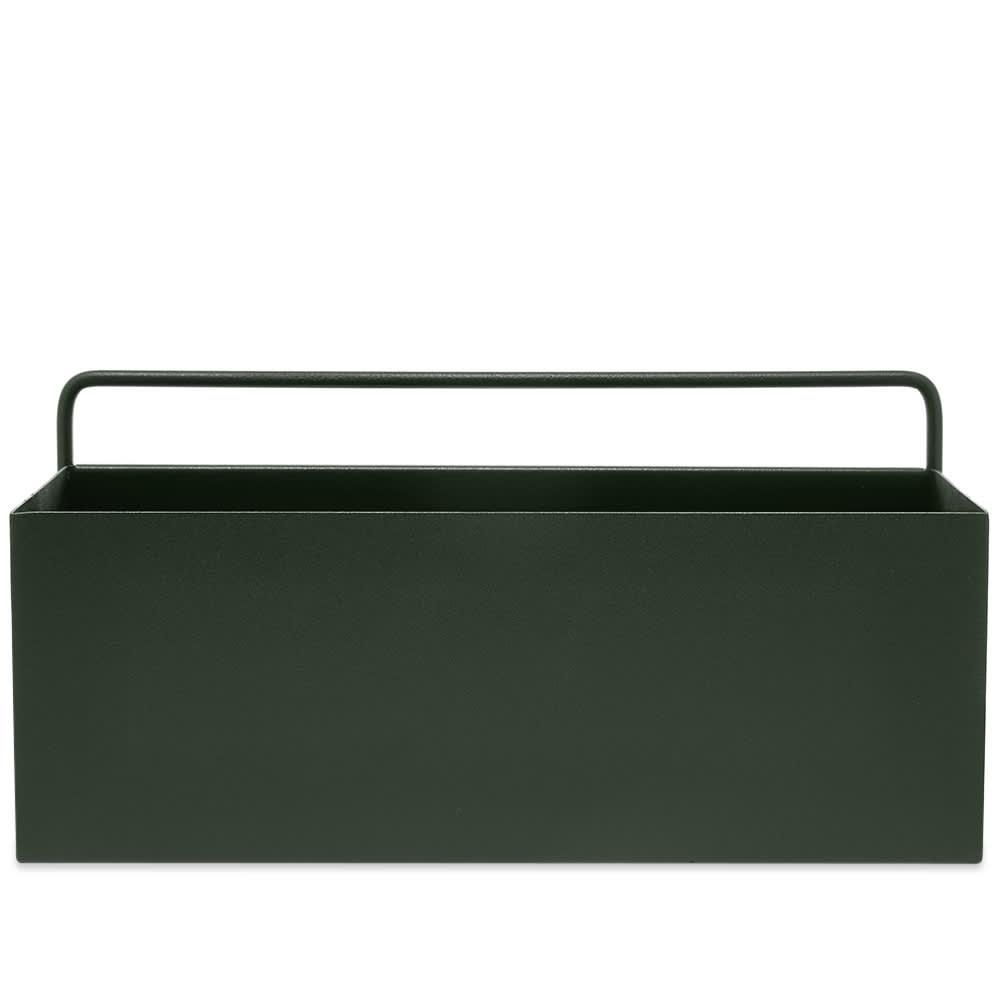 Ferm Living Regtangular Wall Box - Dark Green