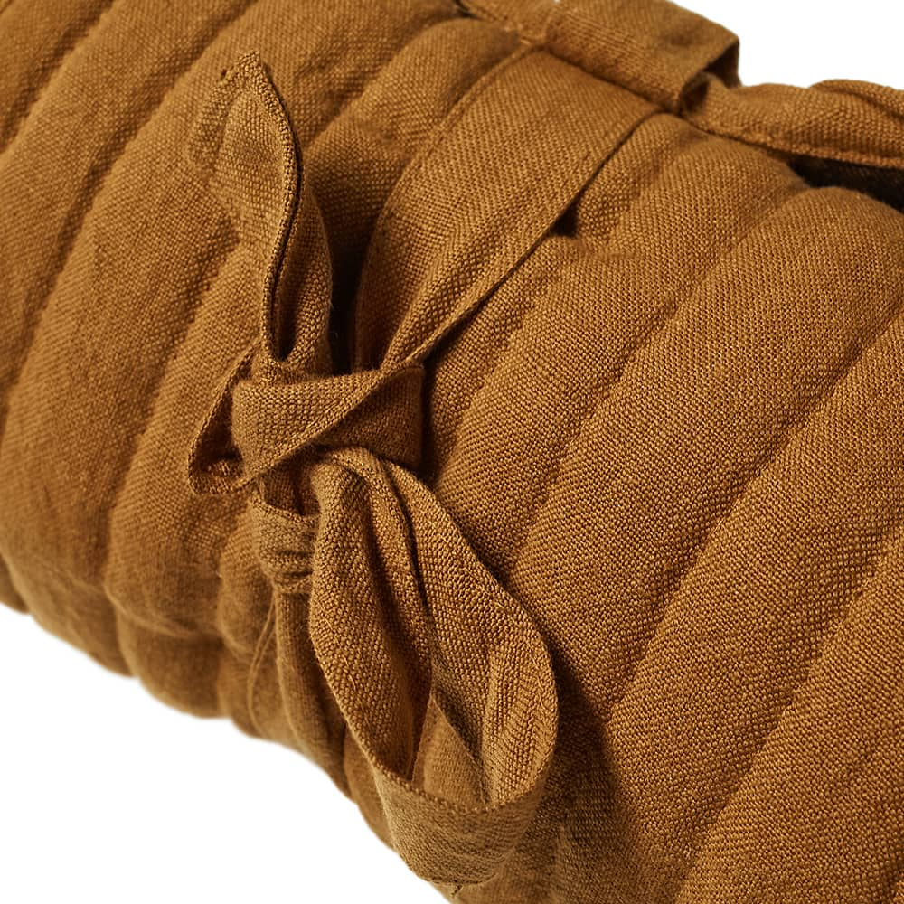 Ferm Living True Quilted Rolling Mat - Brown Stripe