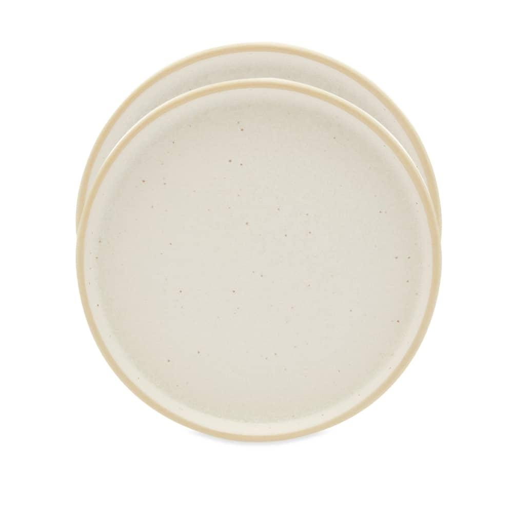 Frama Small Otto Plate - Set Of 2 - White