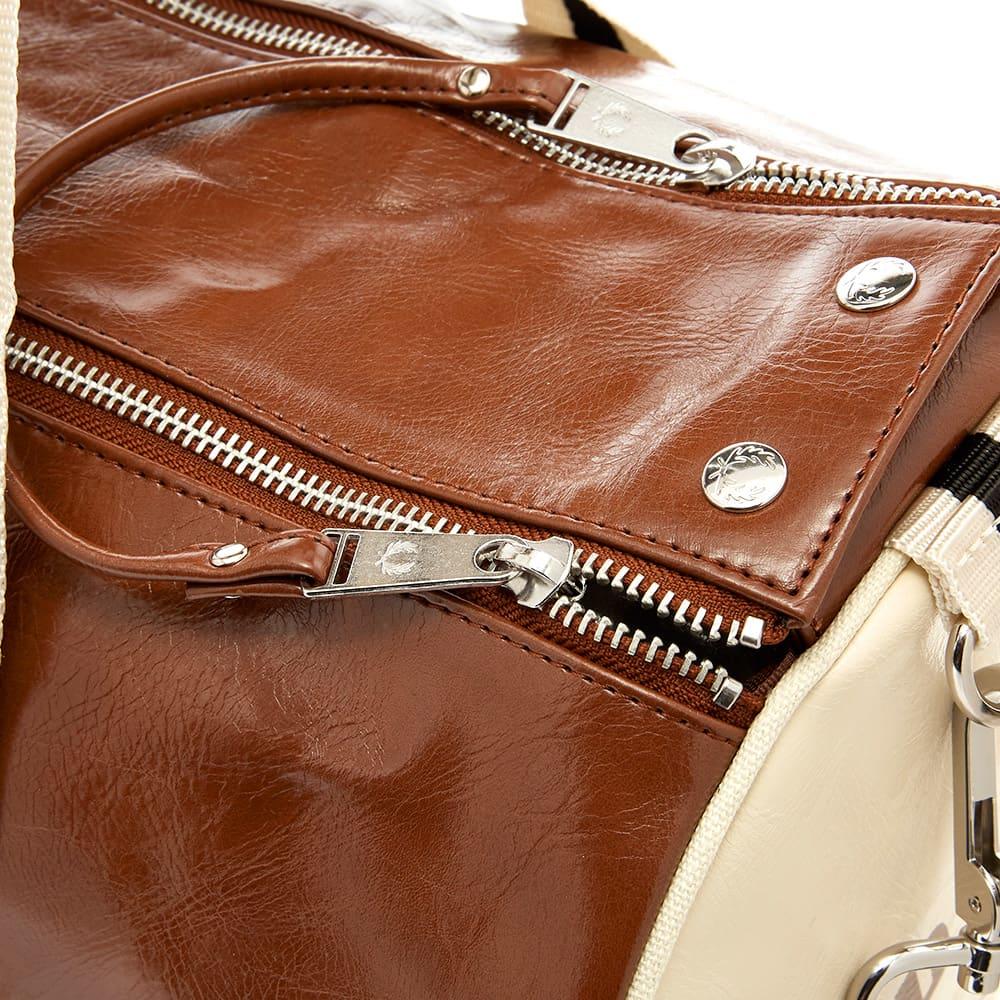 Fred Perry Classic Barrel Bag - Tan & Ecru