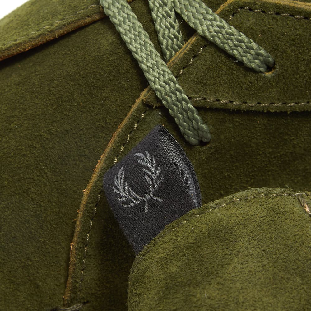 Fred Perry x Padmore And Barnes Suede Mid - 1964 Olive