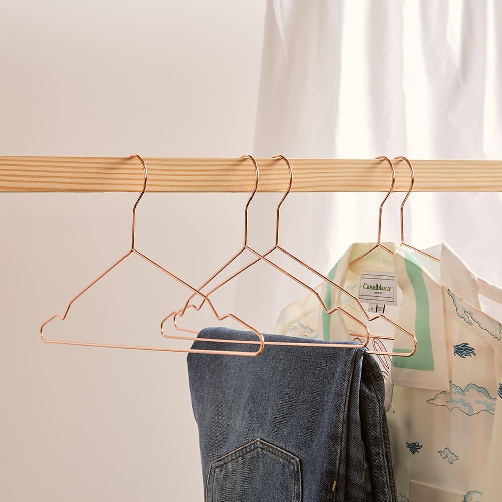 HAY Hang Coat Hangers - 5 Pack - Copper