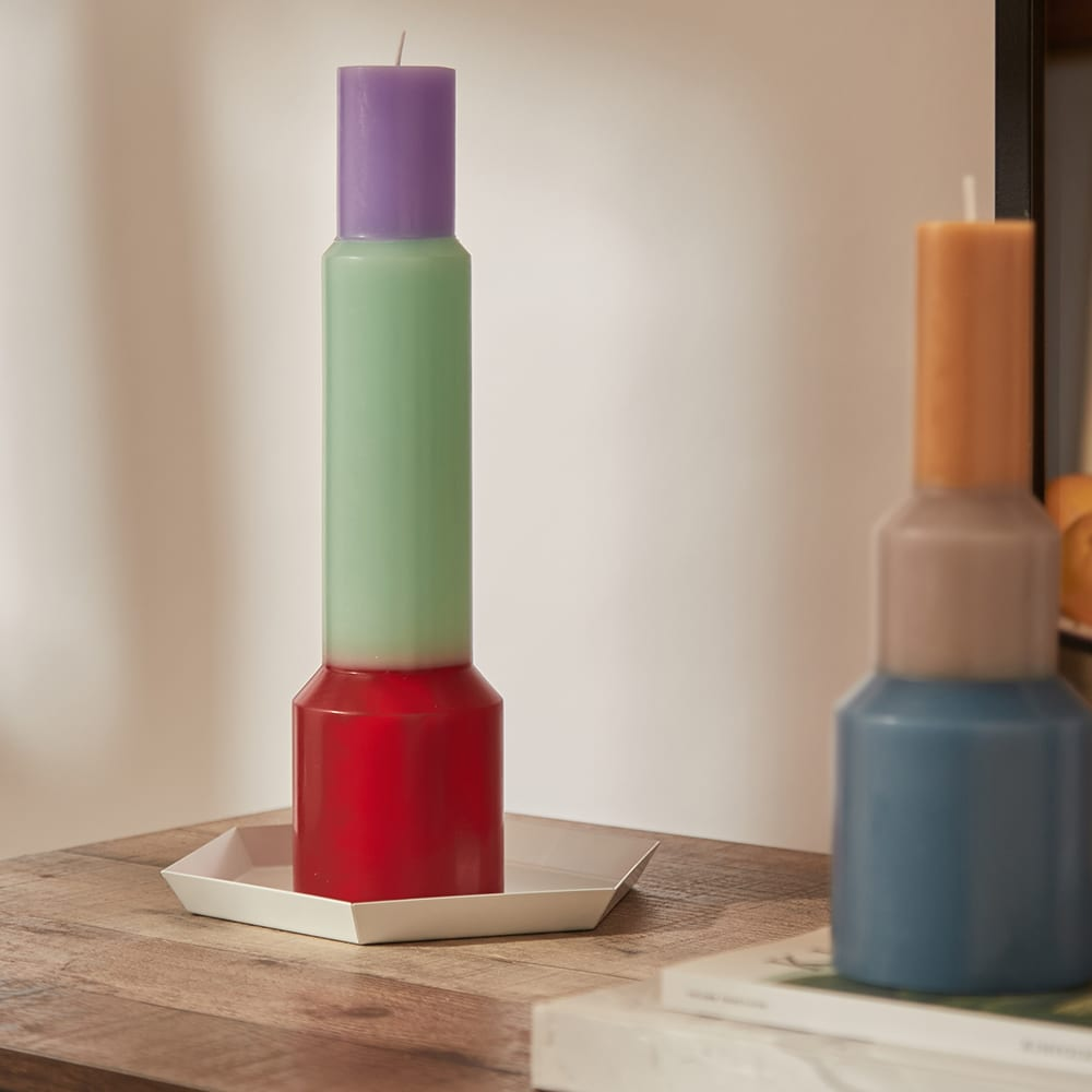 HAY Pillar Candle - XL - Red