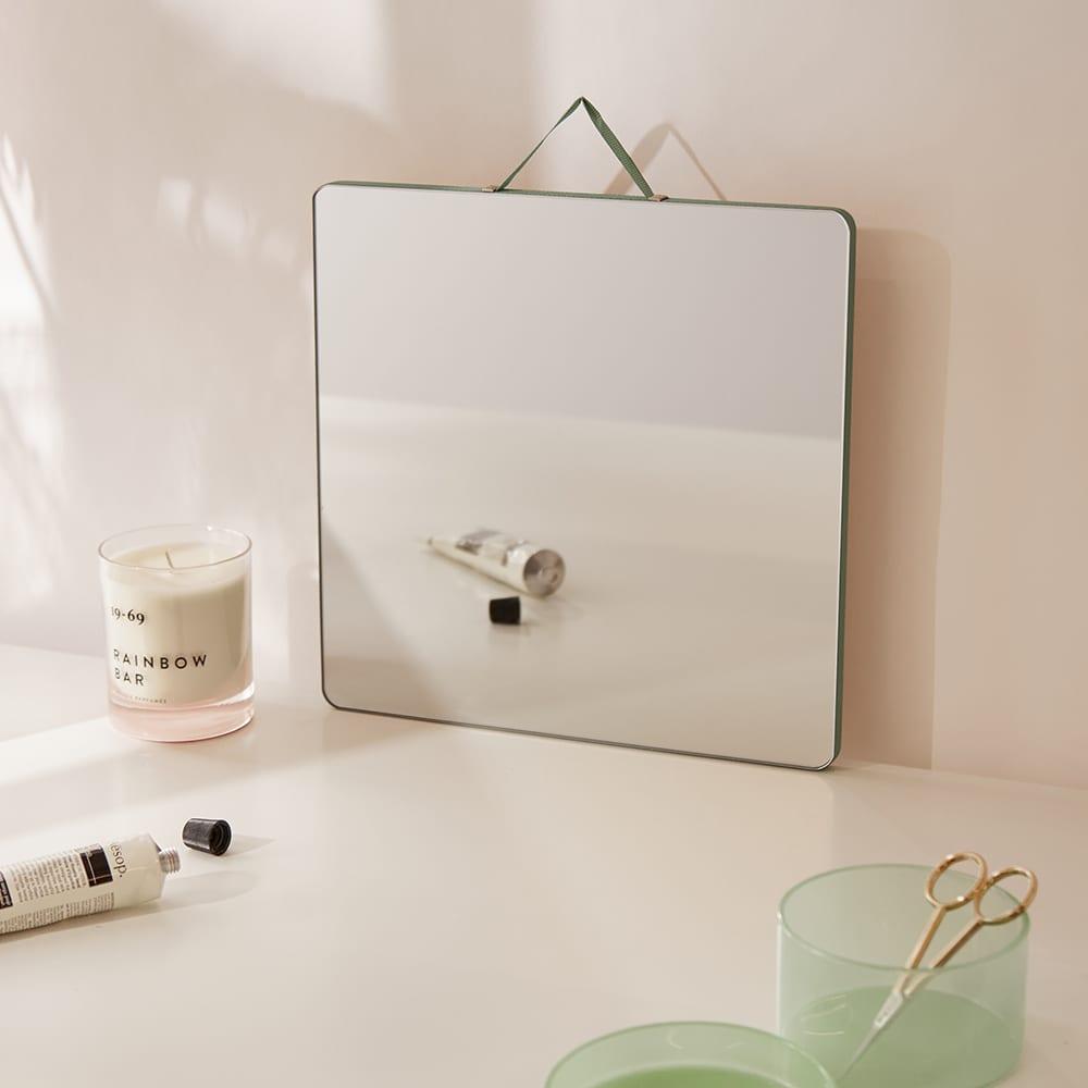 HAY Ruban Large Hanging Mirror - Mint
