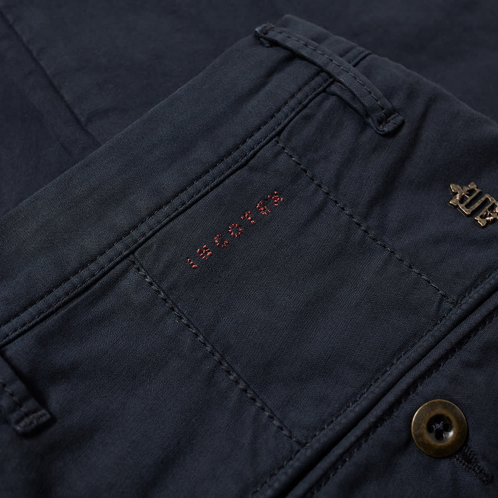 Incotex Skinny Fit Summer Uniform Chino - Navy
