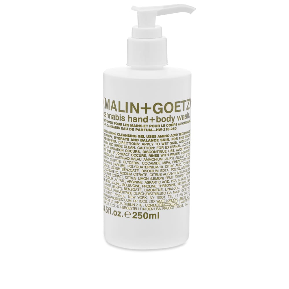 Malin + Goetz Cannabis Hand & Body Wash - 250ml