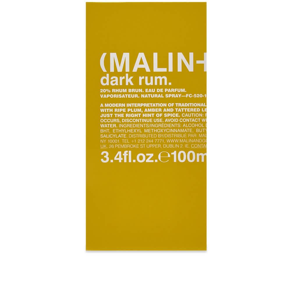 Malin + Goetz Dark Rum Eau de Parfum - 100ml