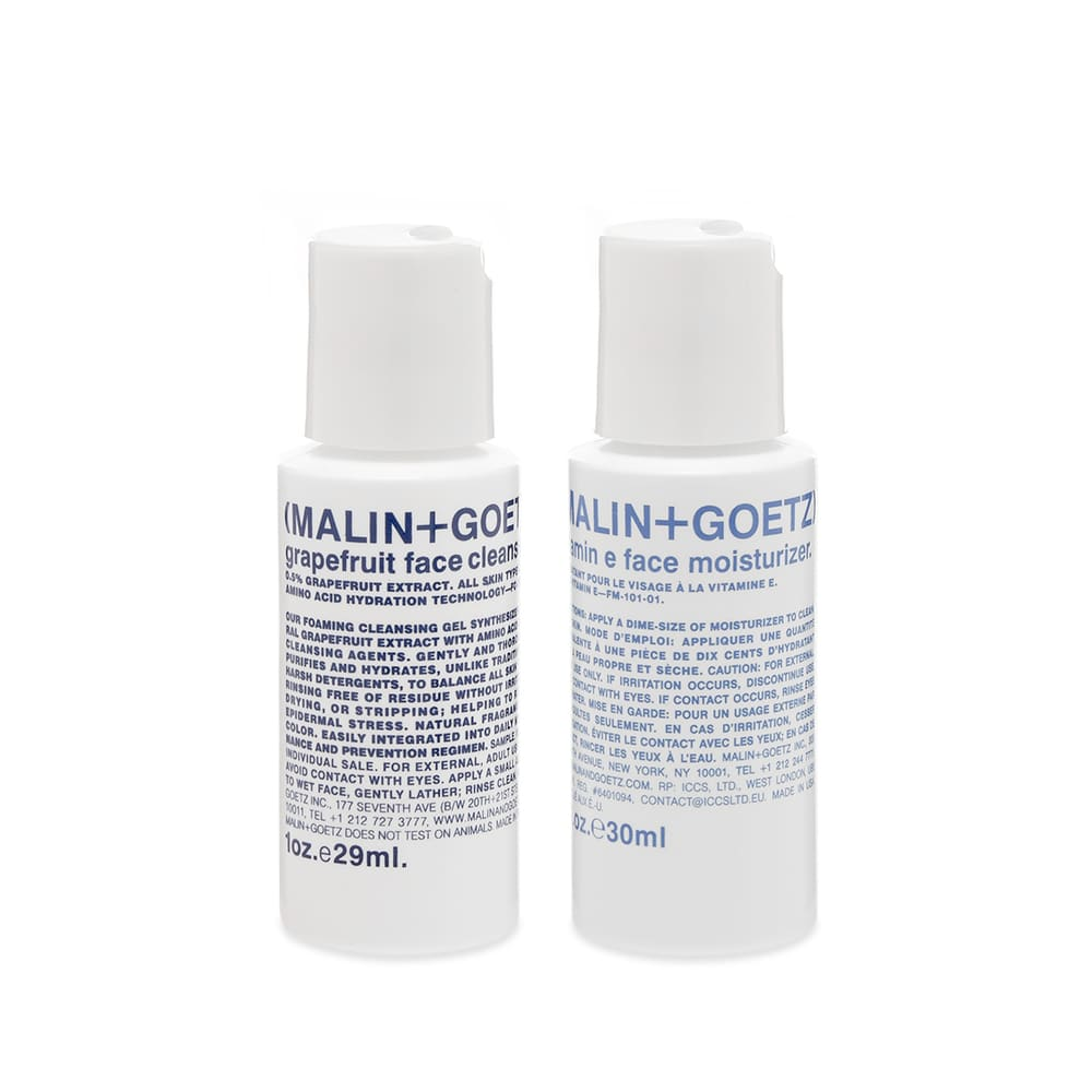 Malin + Goetz Face Essentials Duo - 2 x 30ml