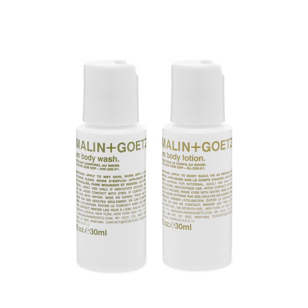 Malin + Goetz Rum Body Essentials Duo - 2 x 30ml