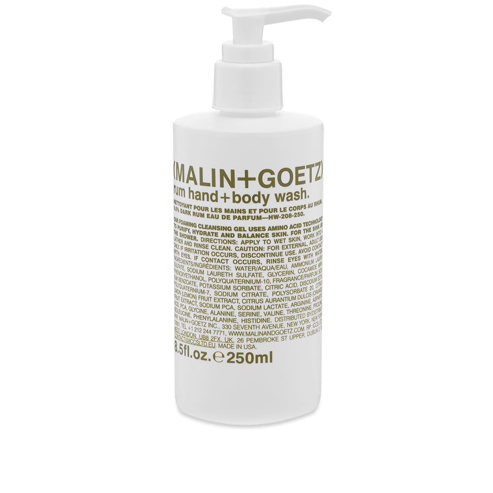 Malin + Goetz Rum Hand & Body Wash - 250ml
