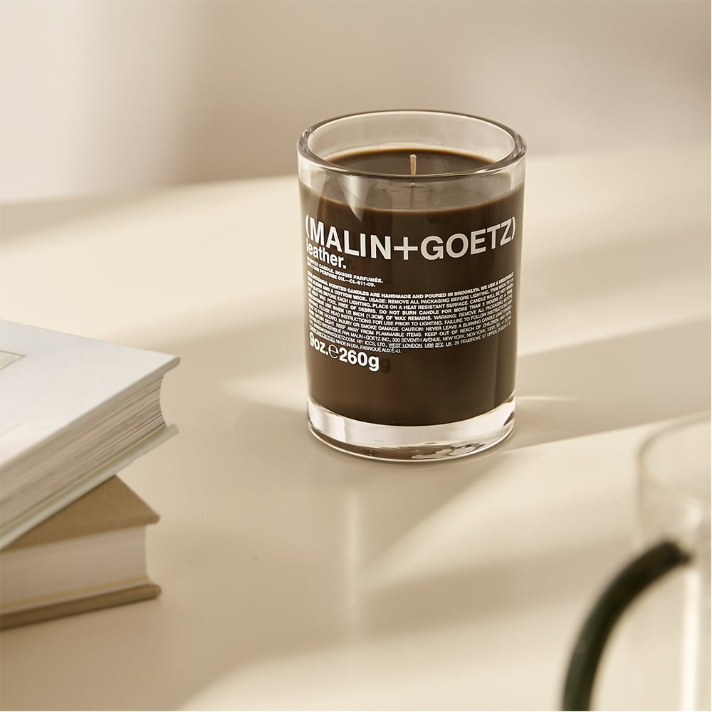 Malin + Goetz Table Candle - Leather 260g