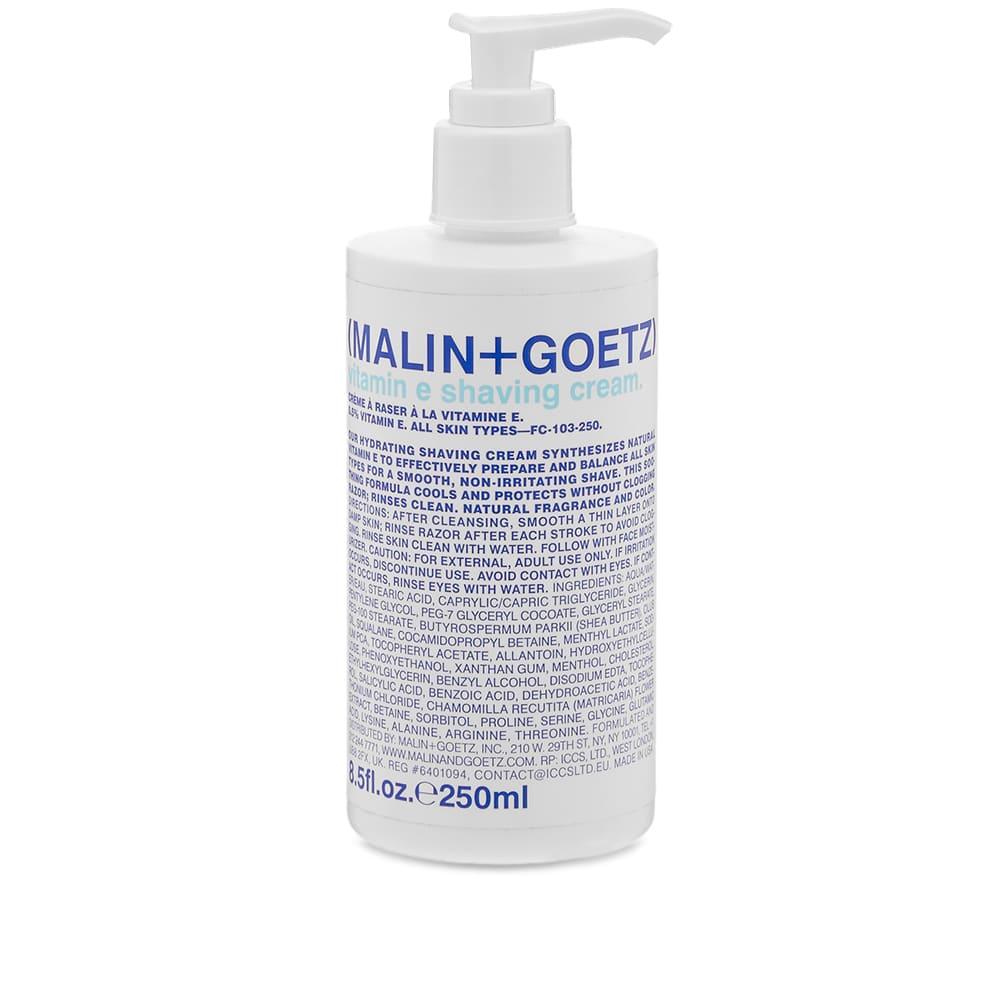 Malin + Goetz Vitamin E Shaving Cream - 250ml
