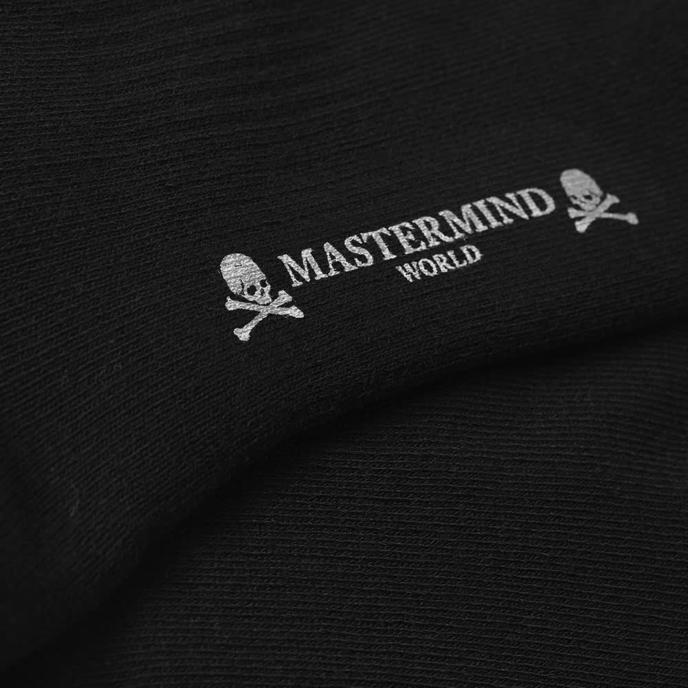 MASTERMIND WORLD Side Skull Sock - Black